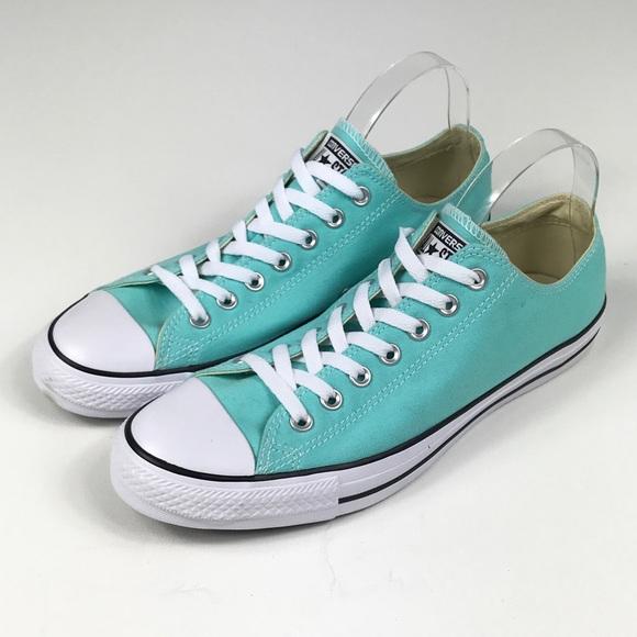 1ce66056525 Converse Shoes | Chuck Taylor Low Top Unisex Blue Mens 10 | Poshmark